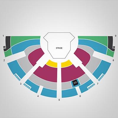 Festival Theatre Map