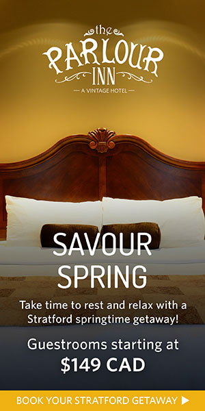 Savour Spring at The Parlour Inn