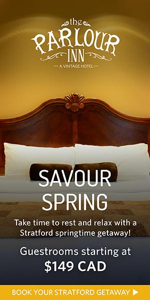Savour Spring at The Parlour Inn in Stratford