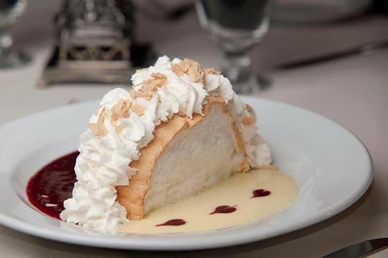 Famous Pavlova Dessert at The Parlour Inn in Stratford