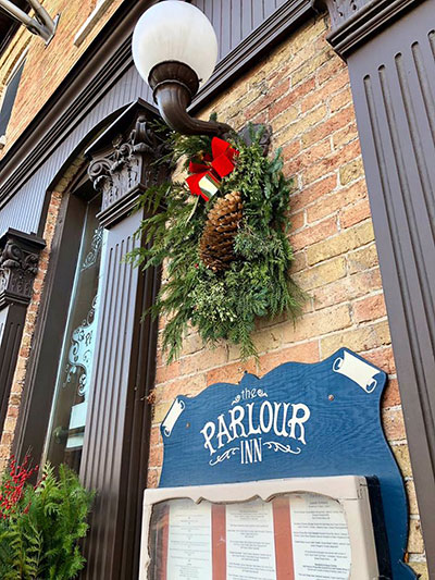 Holiday Festivities at The Parlour Inn in Stratford, Inn